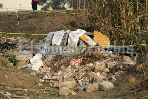 Calcinados, fueron hallados dos cuerpos en paraje de Cuautlancingo