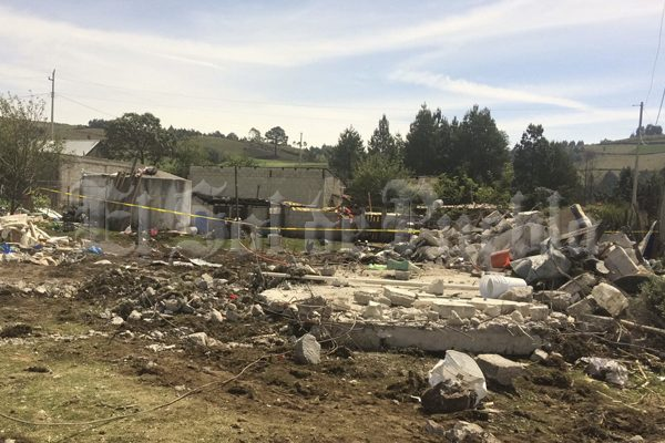 Grave, el estado de salud de tres menores lesionados en explosión de Chilchotla