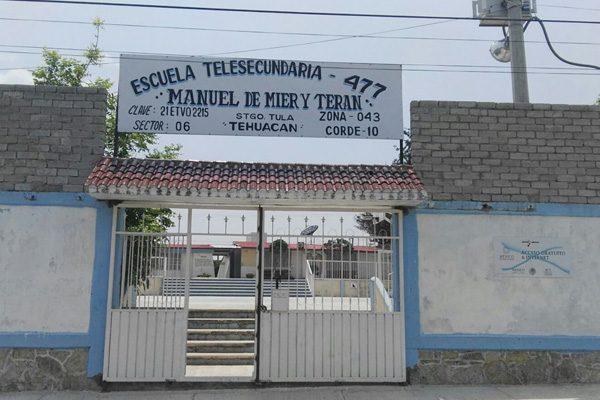 Hallan granada de fragmentación en escuela de Tehuacán