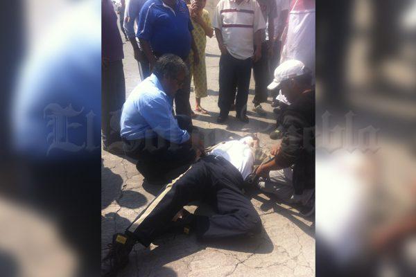 De un disparo, asesinan a guardia de casa de empeño quien perseguía a ladrones
