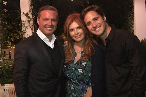 Luis Miguel frente a frente con Diego Boneta quien lo interpretará en bioserie