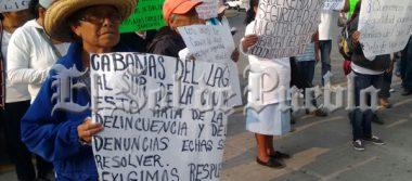 Vecinos de Cabañas del Lago exigen a la Fiscalía detener a bandas delictivas