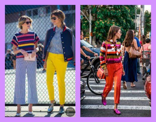 Colores por todas partes | REVIVIENDO LA MODA