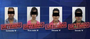 Dan prisión preventiva a los cuatro asaltantes de la Ruta 44
