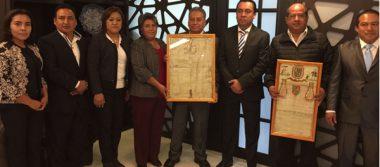 Recupera Cuautlancingo documentos históricos, datan del siglo XVIII