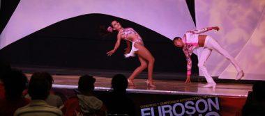 """Estilo, precisión y sensuales movimientos engalanaron el """"Euroson  Latino"""""""