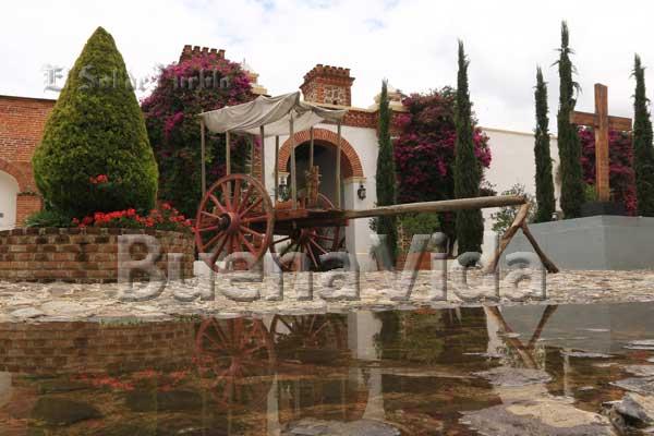 Haciendas, los rincones para el desestrés en Puebla