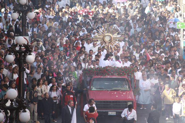 Católicos poblanos piden que pare violencia