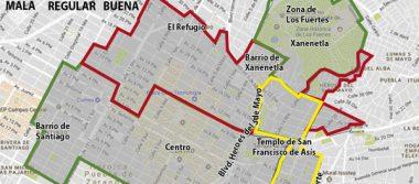 Dañada, la mitad del Centro Histórico de Puebla