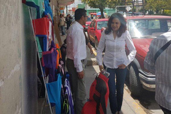 Mantuve seguridad en la capital porque era alcaldesa de tiempo completo: Alcalá