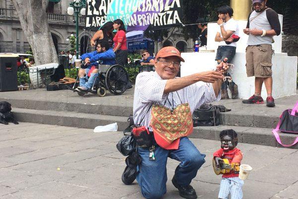 Artistas callejeros se oponen al reordenamiento