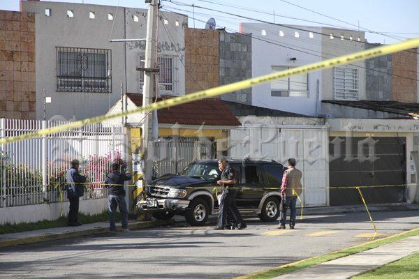 Deja a su hijo en la escuela y luego lo ejecutan en calles de San Pedro Cholula