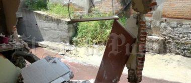 Tromba dañó su casa en Álamos Vista Hermosa; pide ayuda para su reconstrucción