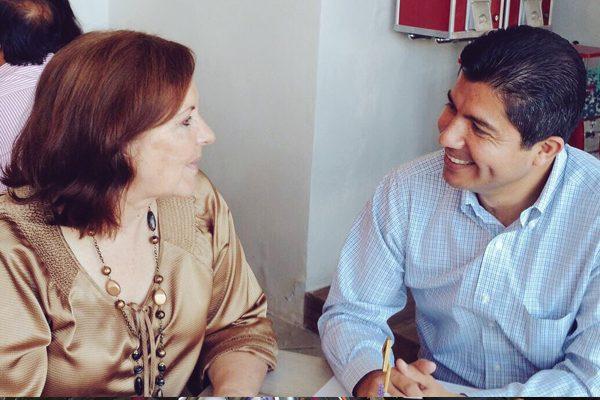 Se reúnen Eduardo Rivera y Ana Tere de cara al 2018