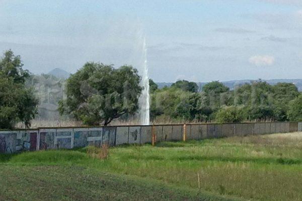 Detectan fuga de combustible en San Antonio Chiautla Arenas
