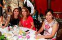 Moni Abdala de Hilgo, Liz Rosas y Rafaela Rivas