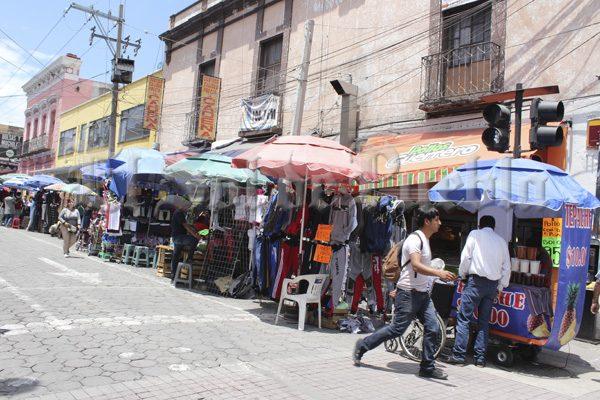 Perfeccionarán el Corredor Comercial del Centro Histórico de Puebla