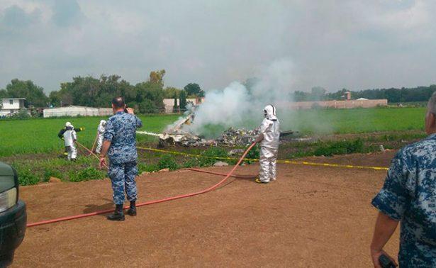 [Video] Chocan dos aeronaves militares en Edomex; hay dos heridos