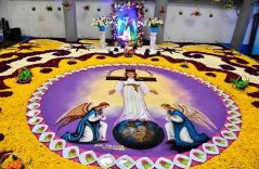 [Fotos] Color, fe y tradición en la Noche que Nadie Duerme en Tlaxcala