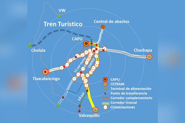 """Línea 3 de RUTA operará con """"dos troncales"""""""