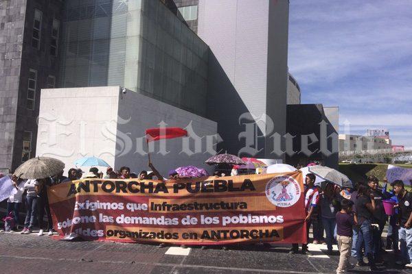 Realiza Antorcha Campesina múltiples manifestaciones en Puebla