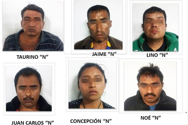 """Vinculan a proceso a seis """"cuijes"""" más por masacre en Huehuetlán El Grande"""