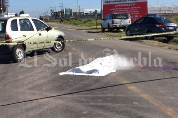 Muere atropellado en la carretera federal Puebla – Tlaxcala