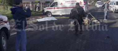 Fallece motociclista tras impacto con camioneta de pan