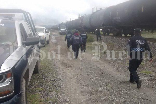 En sólo un día asaltan tres veces los trenes de Ferrosur en Puebla