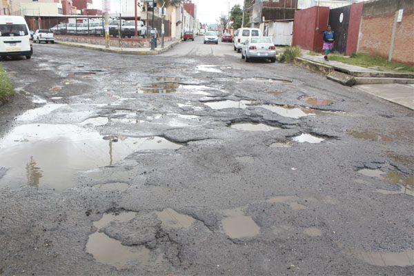 Comuna de Puebla aumentará presupuesto para bacheo