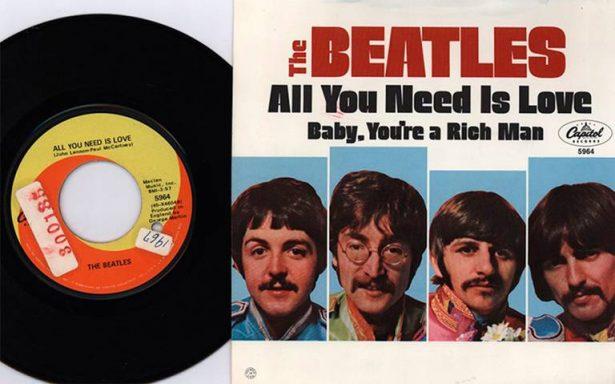 Hace 50 años All you need is love fue Disco de Oro