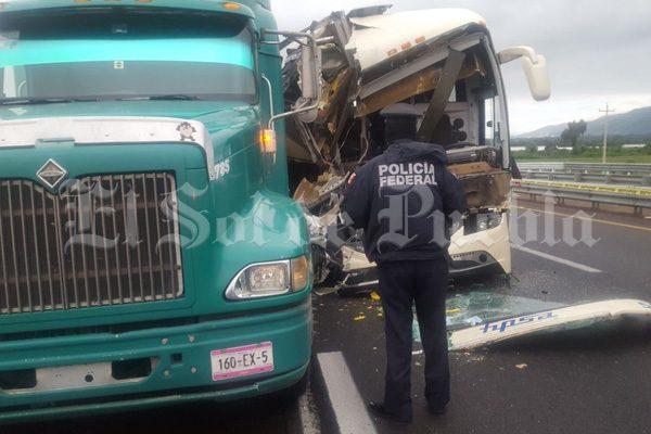 Cobra otra vida el accidente del autobús proveniente de Chiapas