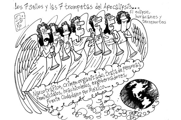 Los 7 sellos y las 7 trompetas del Apocalipsis