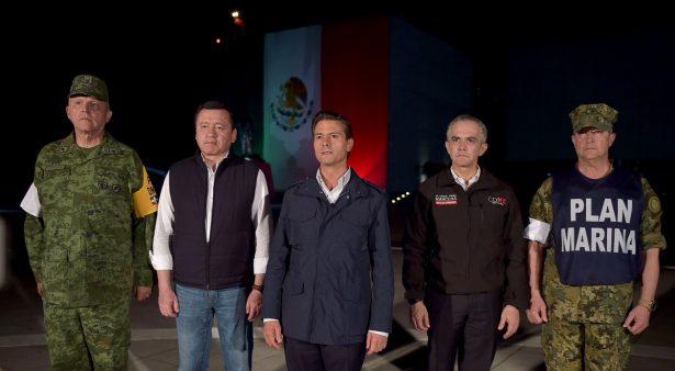 Este sismo es una dura prueba y muy dolorosa para México: Peña Nieto