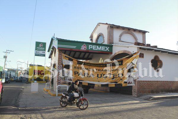 Cancela Pemex contrato a gasolinera de diputado y notario de Puebla