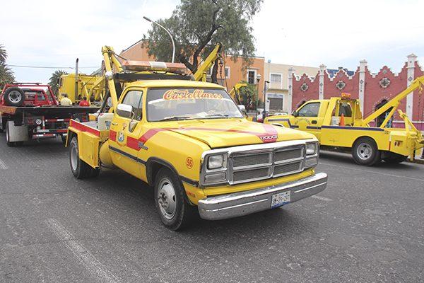 Termina anarquía en servicio de grúas en Puebla capital