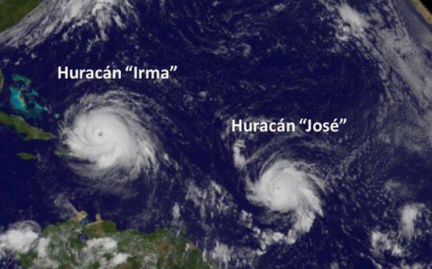 Huracán José toma fuerza y se fortalece a categoría 4