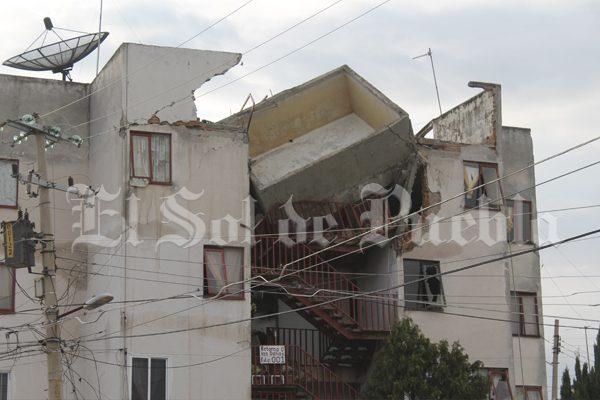 A demolición total 2 mil 500 inmuebles de Puebla tras terremoto