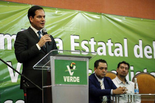 Reeligen a Juan Pablo Kuri como dirigente del Partido Verde en Puebla