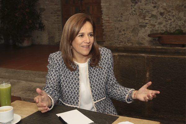 [Entrevista] Mi competidor es Anaya, no Moreno Valle: Margarita Zavala