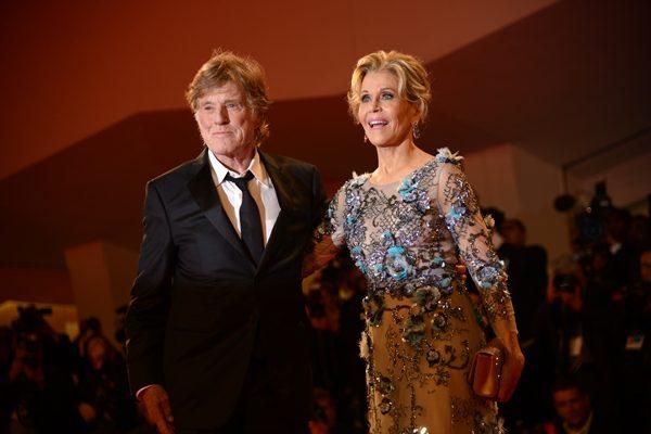 Oro para los leones del cine, Jane Fonda y Robert Redford fueron condecorados