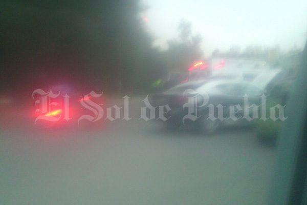 Lo encuentran muerto al interior de una camioneta en Texmelucan