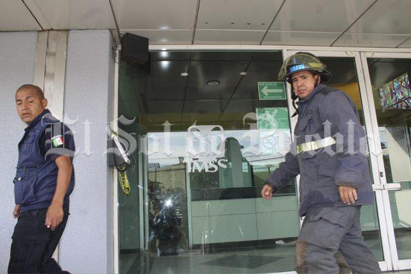 Reporte de fuga de gas cusa desalojo en Ortopedia del IMSS en Puebla