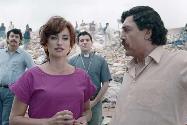 Javier Bardem llegó a la Mostra y manifestó su amor a Pablo Escobar