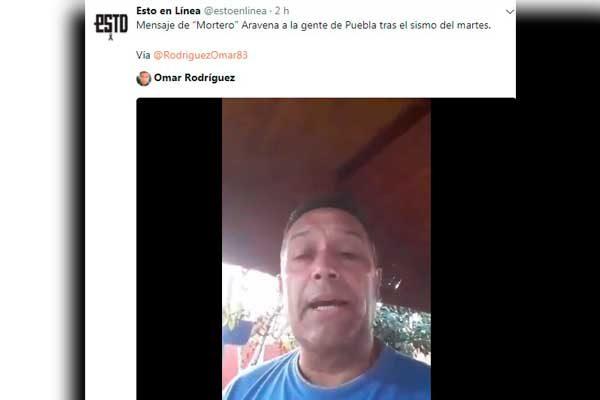 Deportistas juntos por Puebla envían mensajes de apoyo a los damnificados