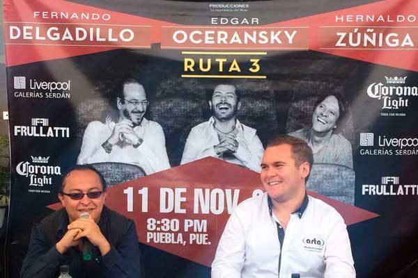 """Amor por la trova viven Oceransky, Delgadillo y Zúñiga con su """"Ruta 3"""""""