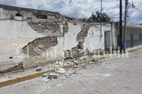 Zacapala sin apoyo tras terremoto, acusan