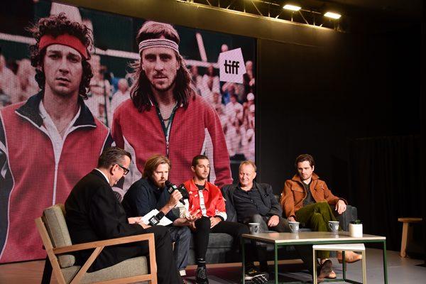 """Rivalidad de tenistas llega a Toronto y abre el festival de cine con """"Borg/McEnroe"""""""