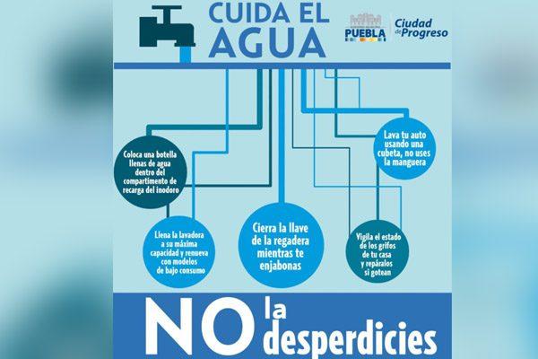 Falla eléctrica en 55 pozos deja sin agua a colonias de Puebla