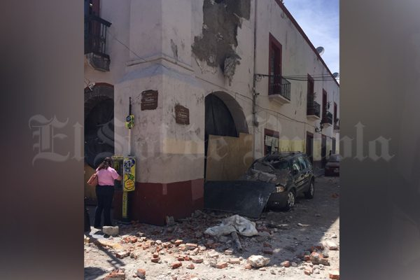 Confirma Atlixco muerte de nueve personas tras el sismo